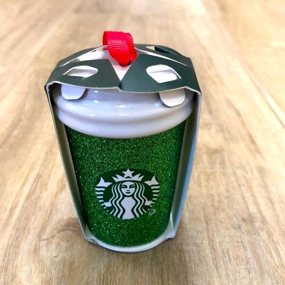 Ceramic Starbucks ornament